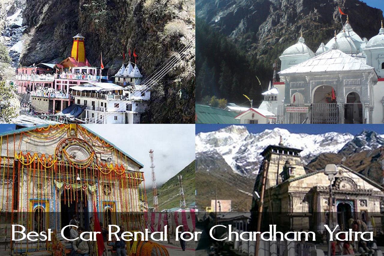 Best Car Rental for Chardham Yatra