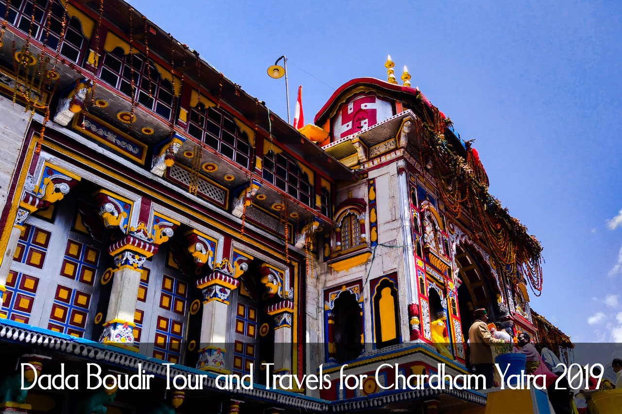 Dada Boudir Tour and Travels for Chardham Yatra 2019